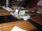 Settling the CS dinner bill