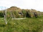 Sami house, rebuilt