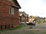 Atypical in Murmansk: rural-looking houses