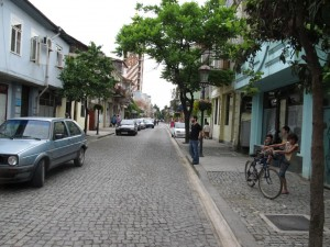 Batumi street scene