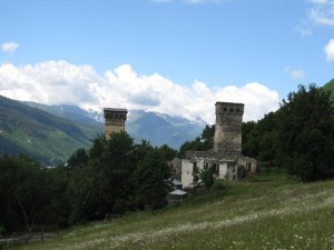 Svan towers, Mestia