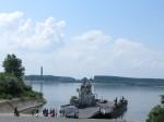 The ferry to Romania