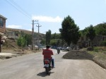 My motorcycle escort in Abash Ahmed