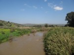 Crossing the river Jordan to the Golan