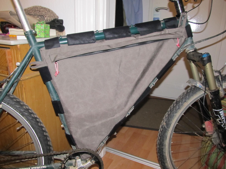 DIY Frame Bag No. 2 | On My Todd