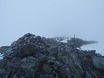 The summit of Creag Leacach